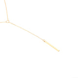 ARABELLA Gold Sequin Lariat Choker Necklace | Elnique