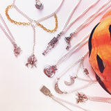 Silver Plated Halloween Necklaces | Elnique