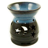 LARISSA. Ceramic Moon & Stars Oil Burner | Elnique
