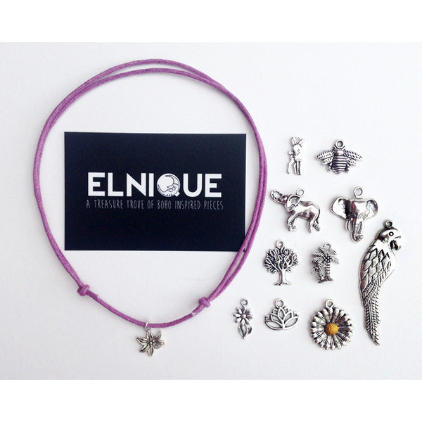 THE NATURE COLLECTION Adjustable Cord Chokers | Colour Options | Elnique