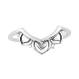 KHALEESI. Archway Tiara Ring (.925 Sterling Silver) | Elnique