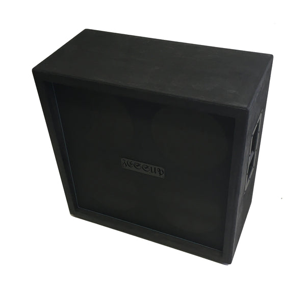 Pre Built Ready to Ship empty JESSUP 4X12 Marshall Style black Empty slight blemish flat black 04