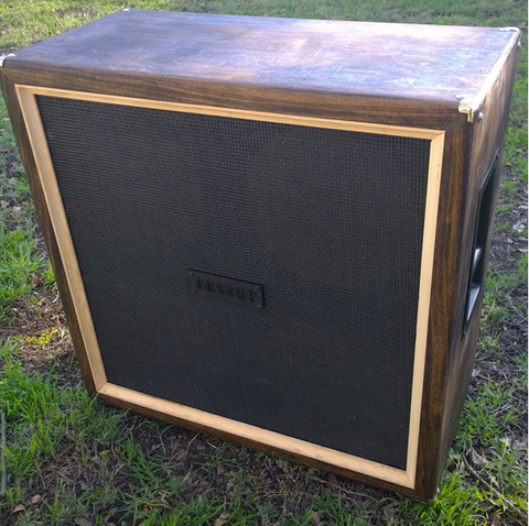 Pre Built Ready to Ship empty JESSUP 4X12 Marshall Style light brown