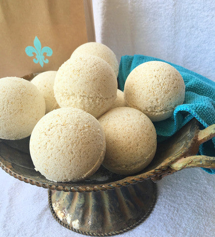 Skin Softening Bath Bombs