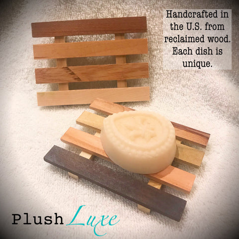 Handcrafted Reclaimed Wood Soap Dish