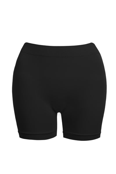 Womens Plus Size Fitted High Waist Seamless Shapewear Shorts (WIL4920P)