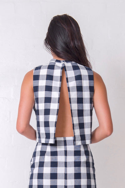 Chequered Charlie Top