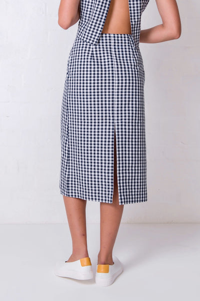 Gingham Charlie Skirt