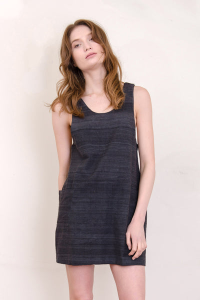 Charcoal Page Dress
