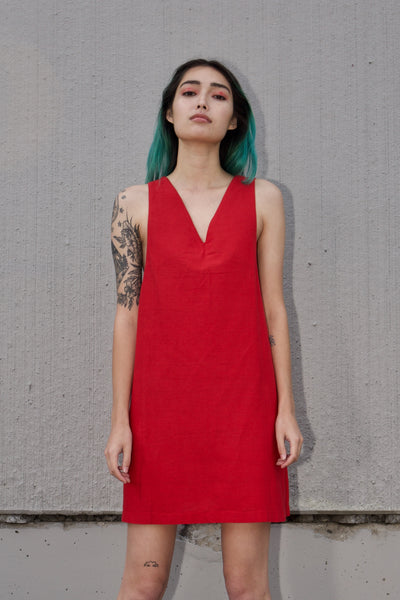 Celeste Dress in Chilli