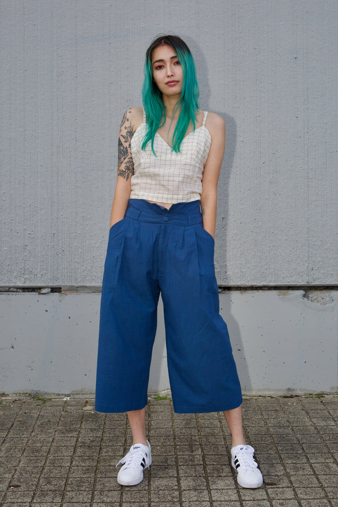 Liddle Culottes in True Blue