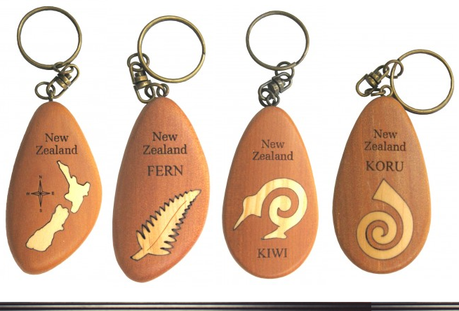 Key Rings Set Without Paua Shells