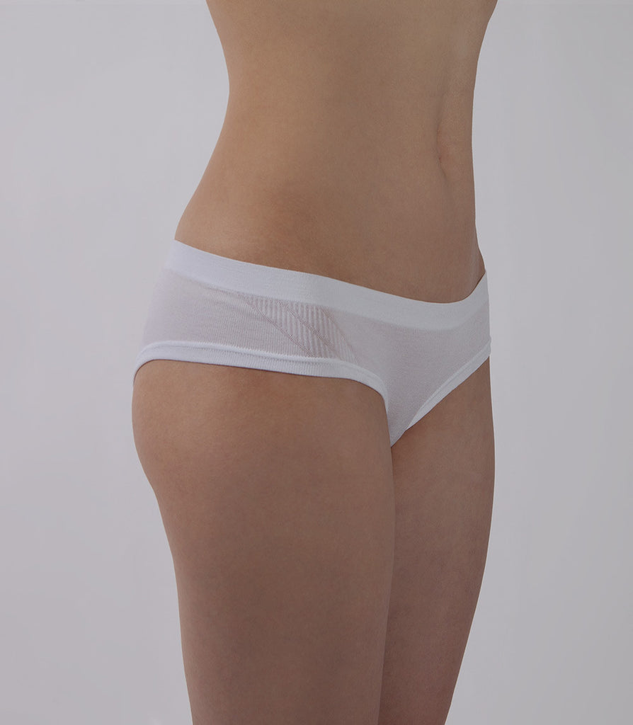 White Brief Side - PURE Seamless