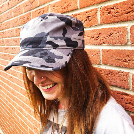 Cotton Camo Cap - Urban Camo