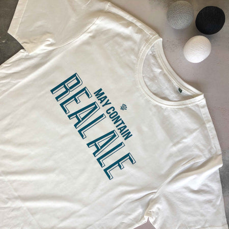 Real Ale Mens Tee - White