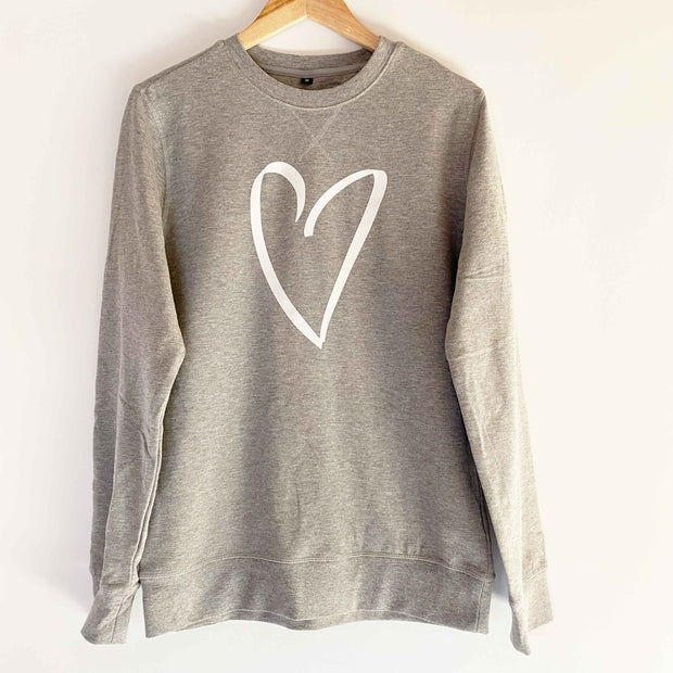 Lightweight Crewneck Sweatshirt GREY