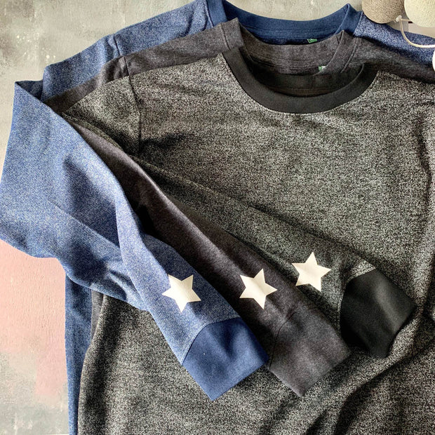 SAMPLE SALE Organic Mini Star Slouchy Womens Sweat Various