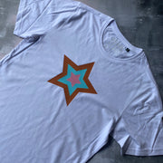 SAMPLE Organic Cotton Star Tee WHITE/ STAR