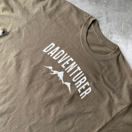 SAMPLE MENS Cotton Dadventurer Tee OLIVE