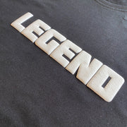LEGEND 3D Print Mens Tee - Black