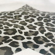 SAMPLE SALE Leopard Flash Charcoal / Grey