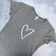 SAMPLE HEART Vintage Ultimate Basic Tee VINTAGE COAL