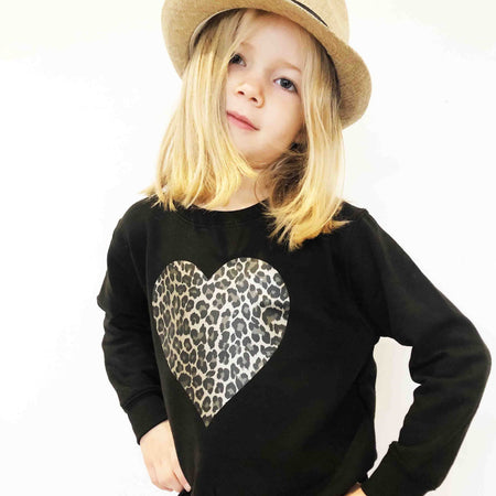 SAMPLE Wild at Heart Children's Classic Sweat - Black