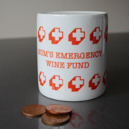 Personalised Emergency Fund Money Box