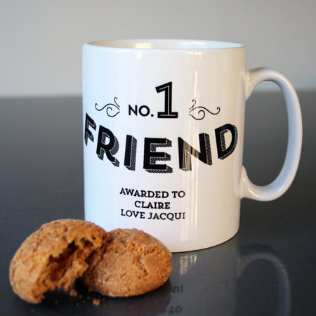 No 1 Friend Custom Mug