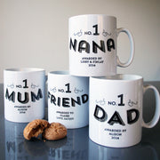 No 1 Grandad Custom Mug