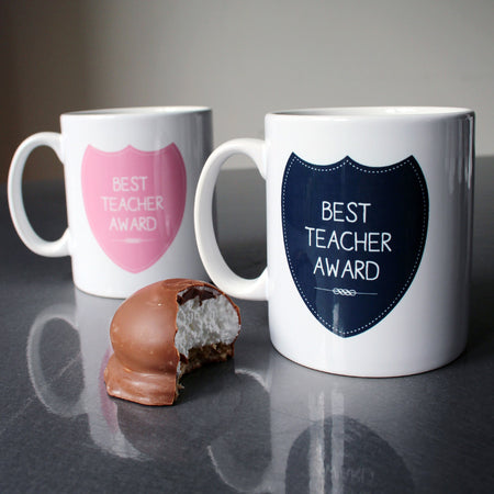 Award Custom Mug for Best Teacher