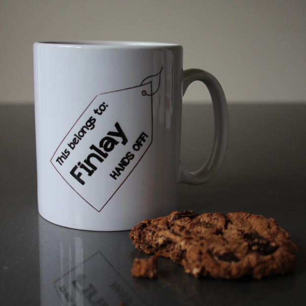 Personalised Tag Mug