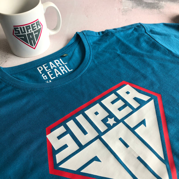 Super Dad Mens Tee & Mug Gift Set