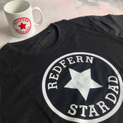 Star Dad Custom Mens Tee & Mug Gift Set