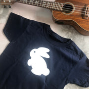 SAMPLE Bunny Children's Classic Tee - Navy/ White