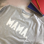 SAMPLE SALE - Mama Boyfriend Sweat - Grey/ White