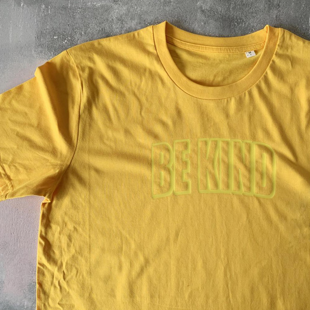 SAMPLE SALE - Be Kind - Yellow