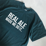SAMPLE SALE - Real Ale - Teal/ White