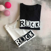 ROCK 100% Organic Cotton Classic Tee - Black