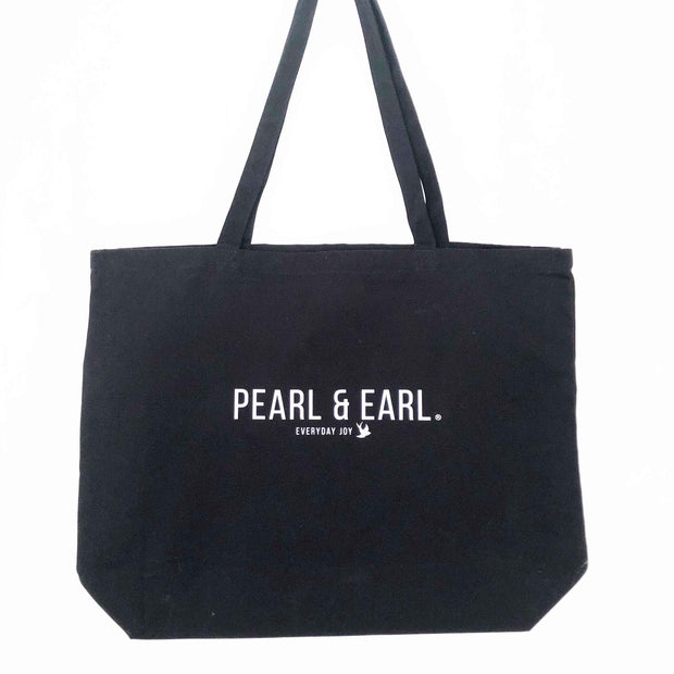 Pearl & Earl Large Canvas Tote