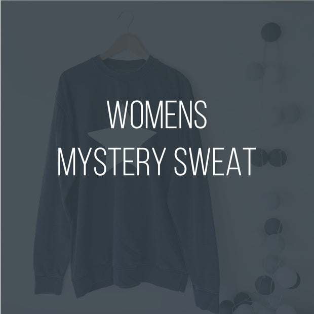 RELOVED Womens Mystery Sample Sweatshirt Boyfriend Womens