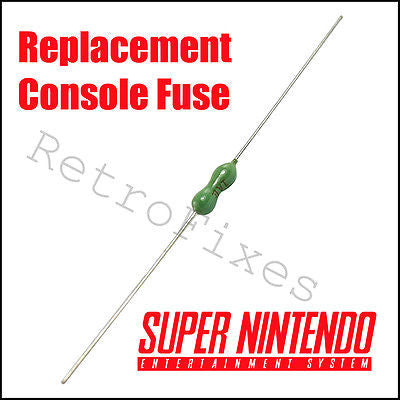 Repair Broken SNES Super Nintendo - 1.5 Amp Pico Factory Spec Fuse 3pcs - RetroFixes