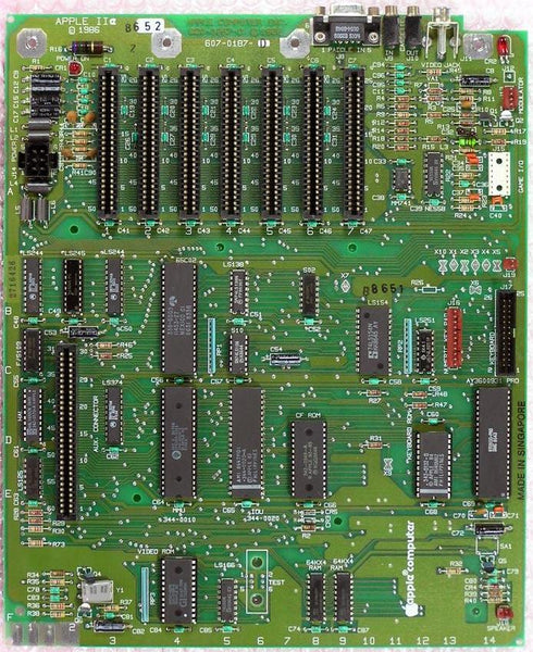 Apple IIe Motherboard (Several Revisions Available)