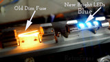 LED Fuse Lamp For Vintage Hi-Fi Receivers Marantz, Sansui, Kenwood, Yamaha, Sony & More - RetroFixes - 5
