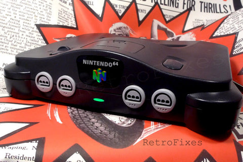 N64 RGB Mod Installation Service + LED Upgrades - RetroFixes - 1