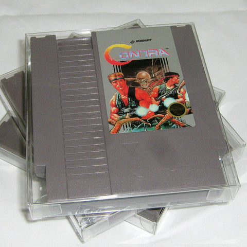 NES Game Crystal Clear Archival Protectors - RetroFixes - 1