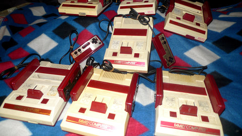 Original Famicom Nintendo RF Console Not Upgraded - Storage Sale Items - - RetroFixes - 1