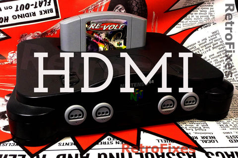 UltraHDMI Nintendo N64 1080p HDMI Mod Upgrade Service (Restock ETA Hopefully Oct/Nov) - RetroFixes - 1
