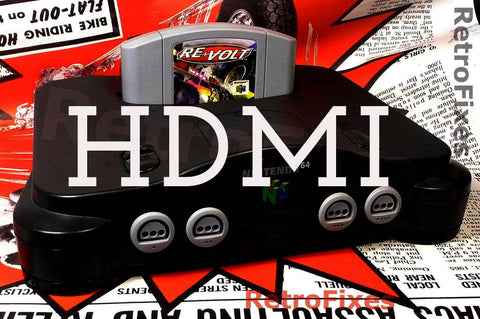 UltraHDMI Nintendo N64 Upgraded Console