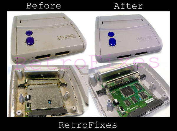 SNES Mini RGB or Svideo Installation Service - RetroFixes - 8